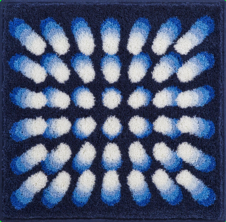Коврики для ванной     KARIM 07,             синий