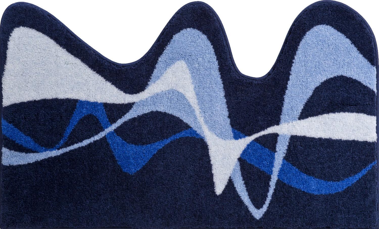 Коврики для ванной     KARIM 19,             синий