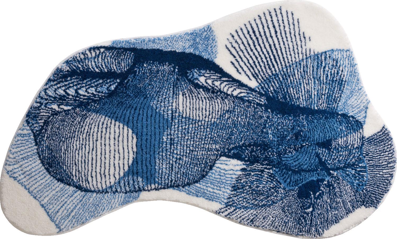 Коврики для ванной     KARIM 27,             синий