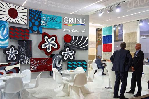 Новые коврики для ванной компании Grund на выставке Heimtextil 2016
